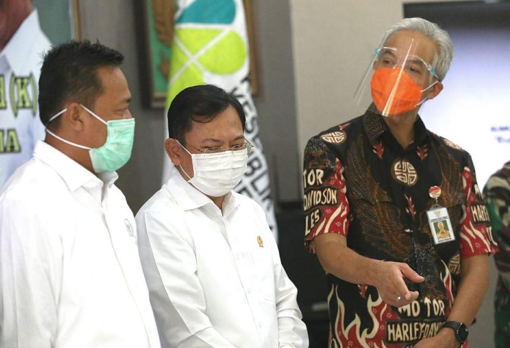 Ganjar Terima Laporan BPKP, PDAM di Jateng Alami Kebocoran 29 Persen