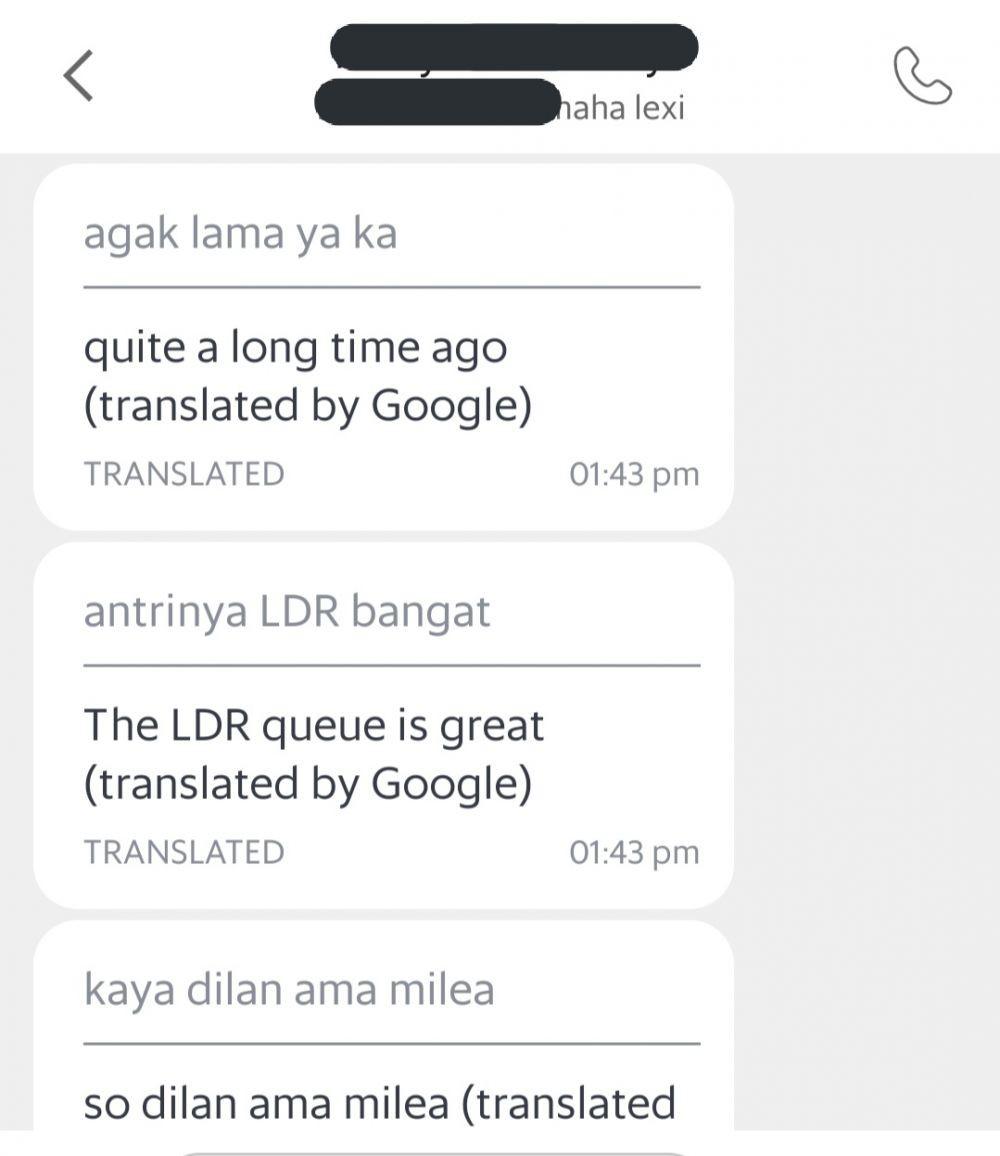 10 Potret Terjemahan Chat Ojol Paling Ngawur, Bikin Ngakak Online!