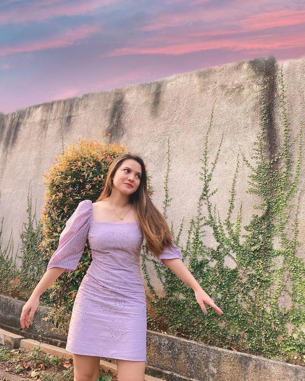 Putus dari El Rumi, 10 Potret Marsha Aruan yang Makin Glowing