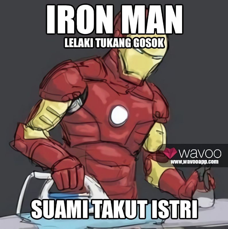 10 Meme Superhero Kehilangan Kekuatannya Ini Jadi Kocak Banget