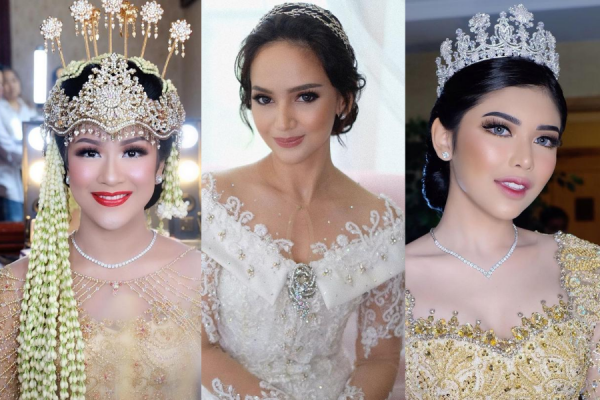 Inspirasi Wedding Makeup ala MUA Ternama Indonesia, Ekstra Flawless!