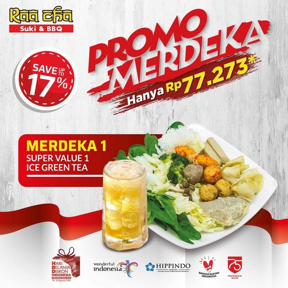 12 Promo Makan Super Hemat HUT ke-75 RI, Serbu!