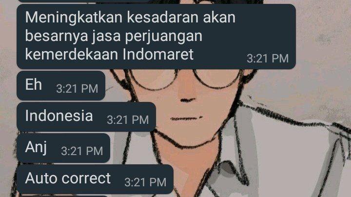10 Chat Random dari Teman yang Absurd Abis, Bikin Ngakak Setengah Mati