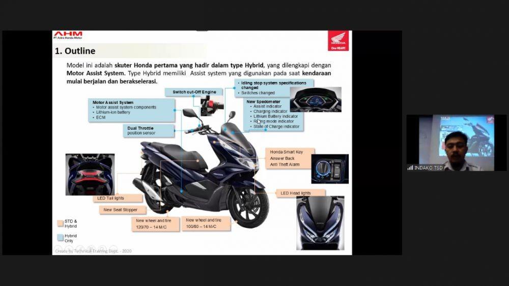 Teknologi Hybrid Honda Pacu Mekanik Honda Tingkatkan Skill