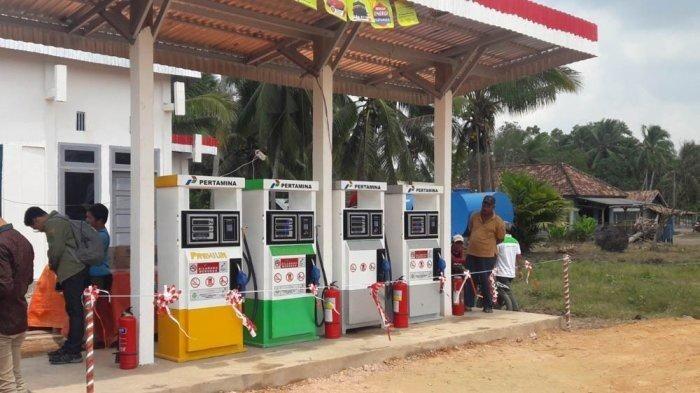 Pertamina Operasikan Tiga SPBU BBM Satu Harga di Lampung Barat