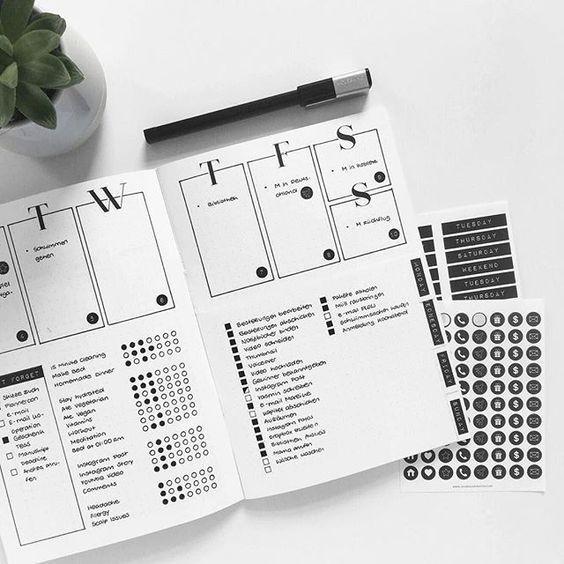 Minimalis dan Cantik! 10 Desain Weekly Planner Biar Lebih Produktif