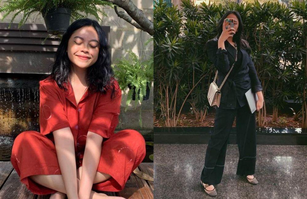 10 Adu Gaya Sakina Tama Vs Putri Tanjung, Anak Bos nan Stylish