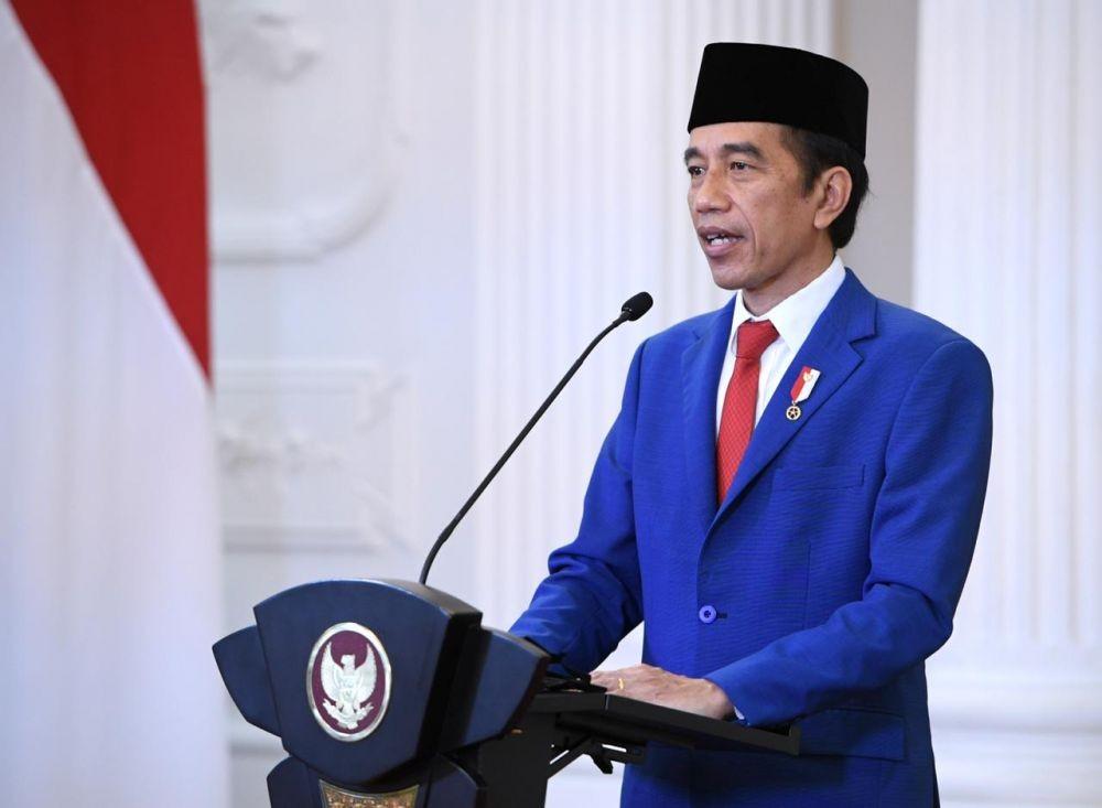 Jokowi Serukan Dukungan Kemerdekaan Palestinadalam Sidang Umum PBB