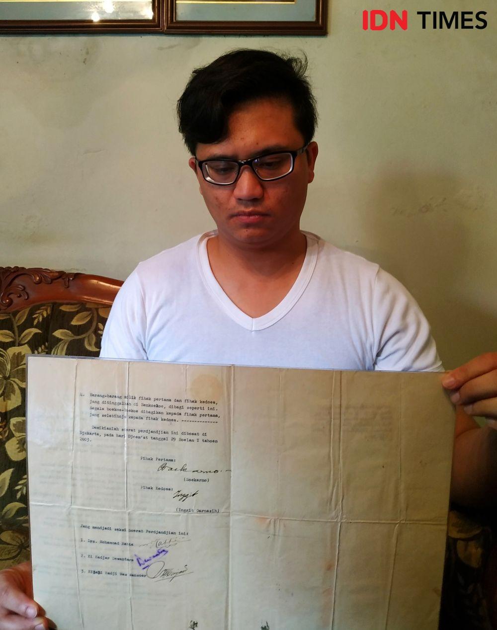 Jual Surat Cerai Soekarno-Inggit, Pewaris Ingin Bangun Klinik