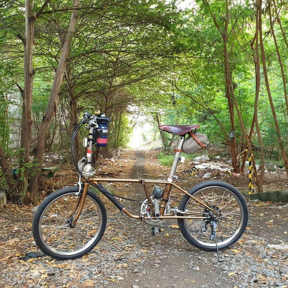 Pesona Sepeda Lipat Dahon Klasik, Masih Jadi Buruan Goweser Lho!