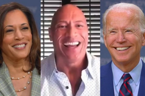 Alasan Aktor 'The Rock' Dukung Joe Biden-Kamala Harris di Pilpres AS