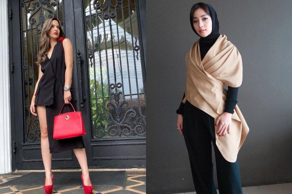 Sama-sama Glamor, Intip 6 Adu Gaya Nia Ramadhani Vs Nikita Willy