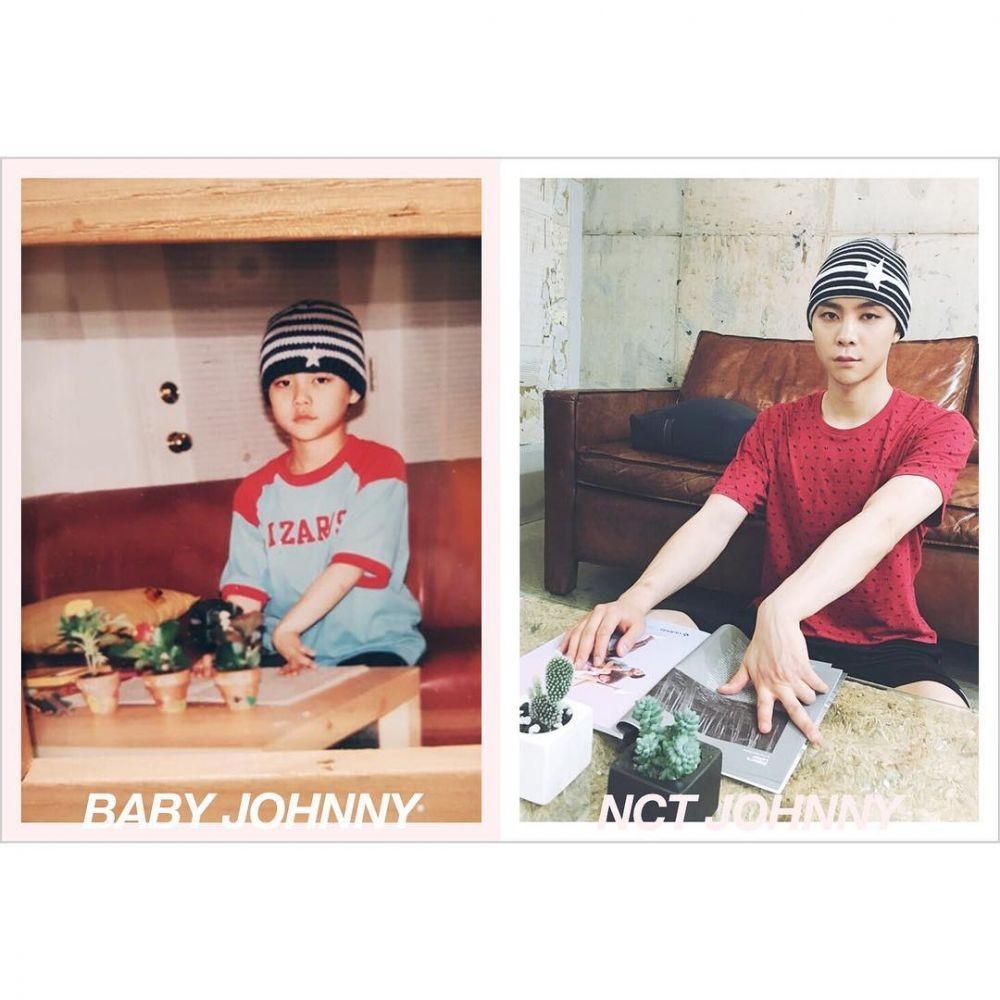 Throwback 18 Foto Remake Masa Kecil Member NCT yang Menggemaskan