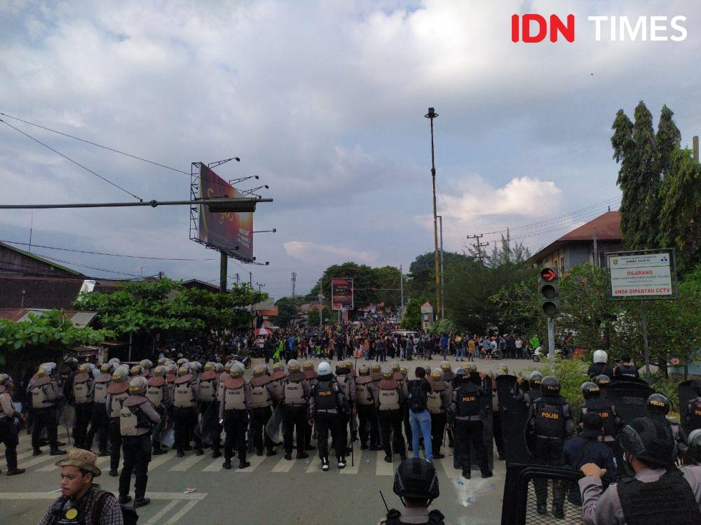 Liputan Omnibus Law, 5 Pewarta Samarinda Jadi Korban Represif Aparat