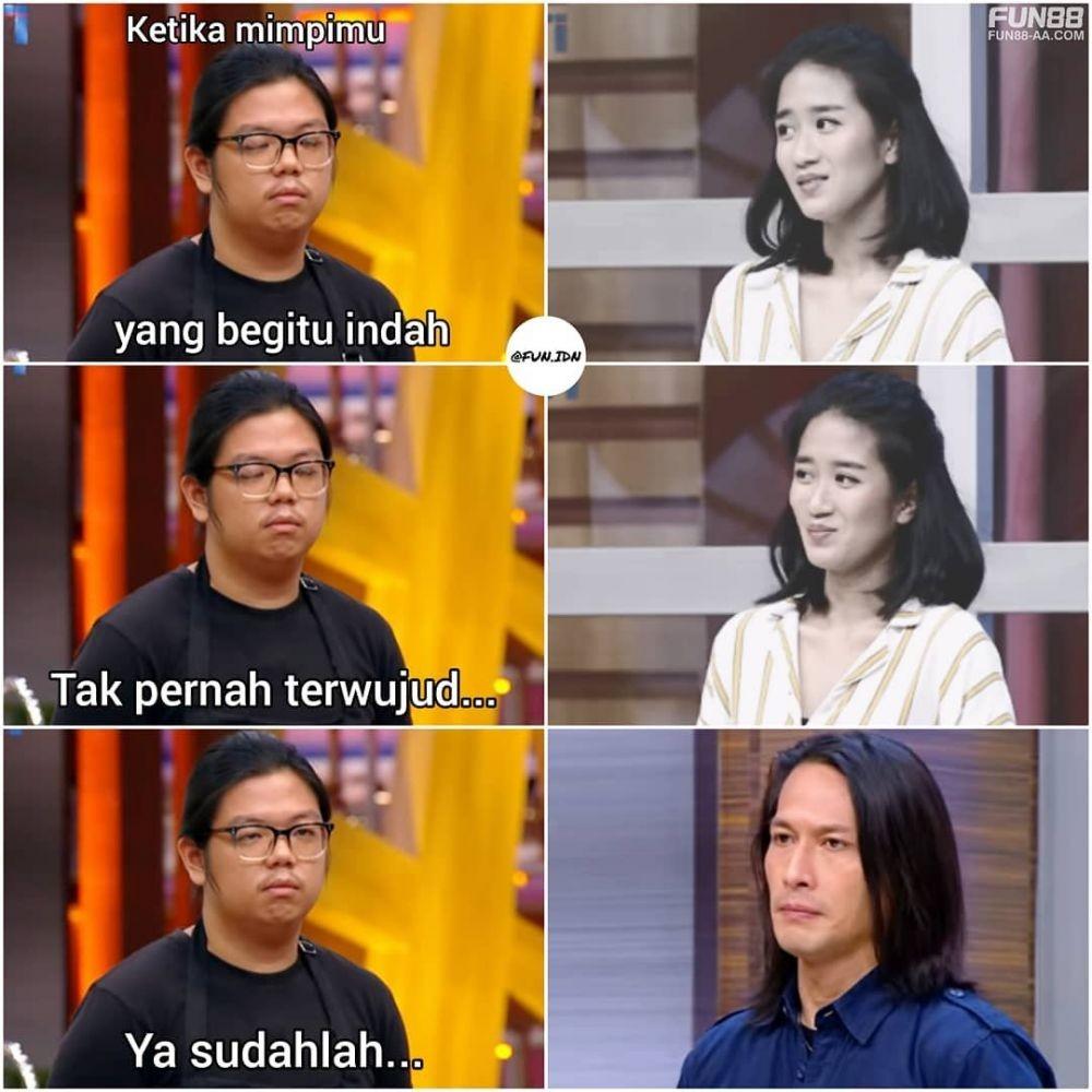 Kocak Abis! Ini 10 Meme MasterChef Indonesia Season 7