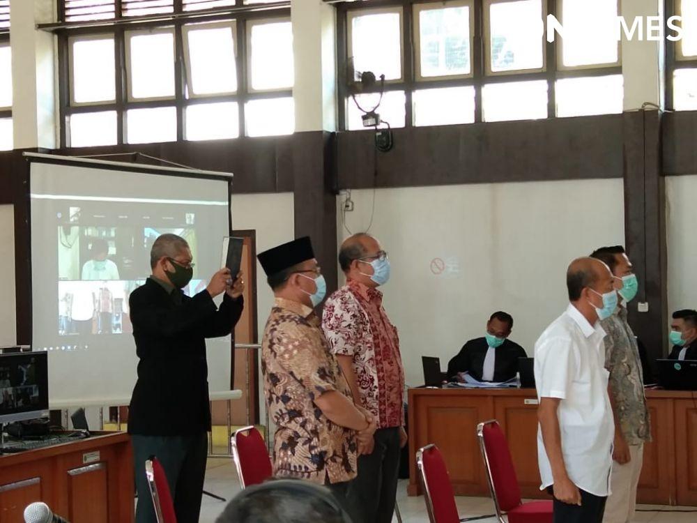 Bupati Muara Enim Non Aktif Juarsah, Dipindahkan ke Rutan Palembang