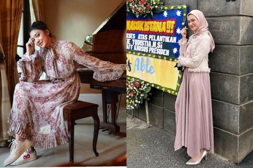 10 Adu Gaya Staf Khusus Presiden, Putri Tanjung Vs Angkie Yudistia