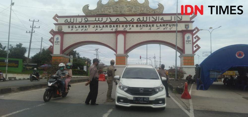 Ingat Ya! Masuk Bandar Lampung Mulai 6 Mei Harus Penuhi Syarat Ini