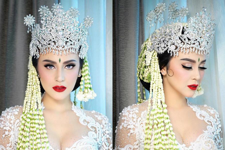 10 Inspirasi Makeup Lamaran dan Pernikahan Artis Selama Oktober 2020