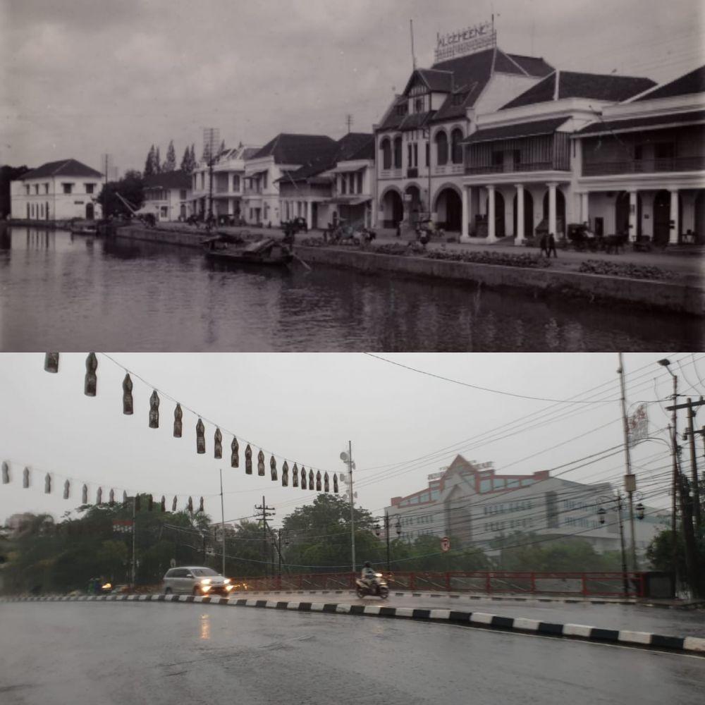 Potret Surabaya Dulu dan Kini, Saksi Keberanian Arek-arek Suroboyo