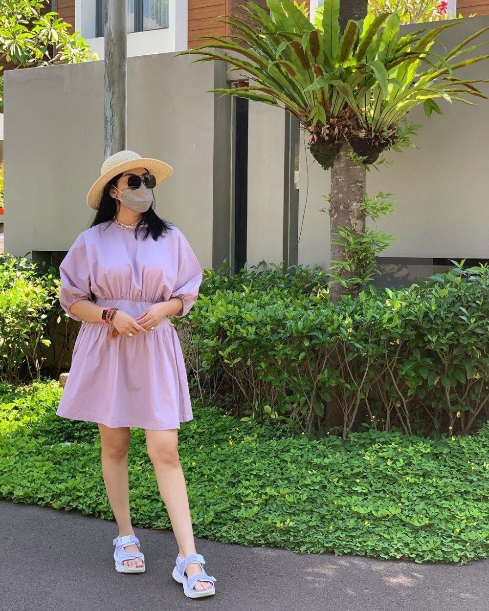 10 Potret Seru Liburan Nindy ke Malang, Sempat Kunjungi Gunung Bromo!