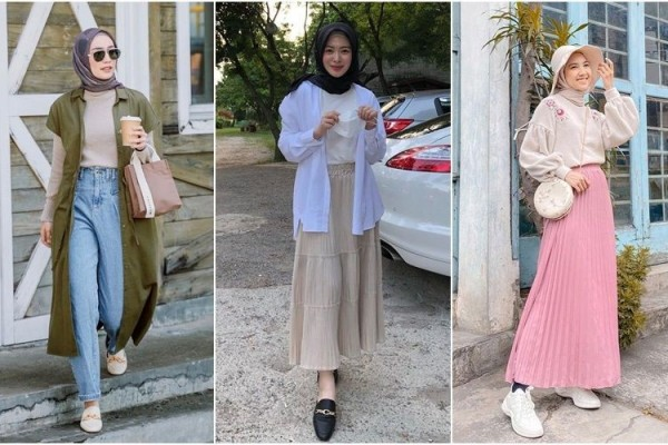 9 Ide Padu Padan Style Hijab ala Korea, Ayana Moon sampai Rani Hatta