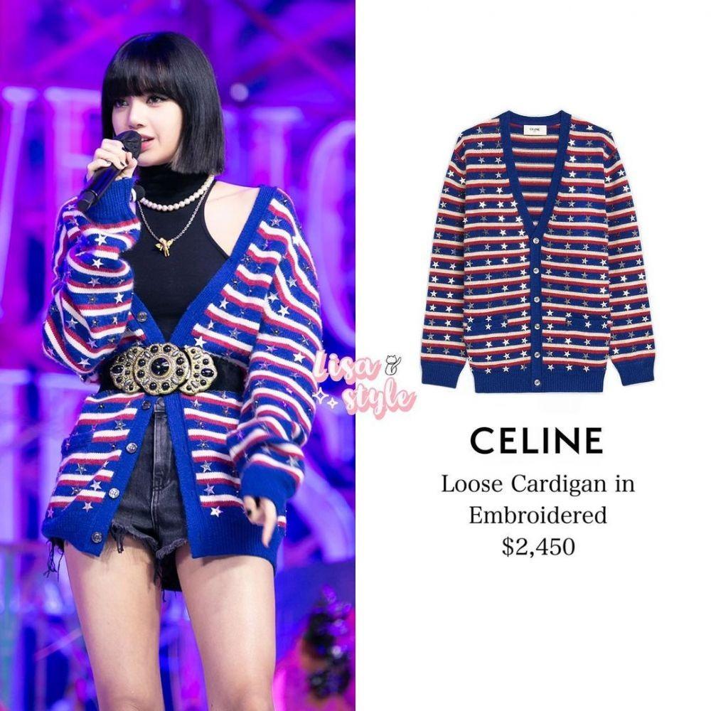 Sederhana Tapi Manis, Harga Outfit Lisa BLACKPINK Memakai Brand Celine