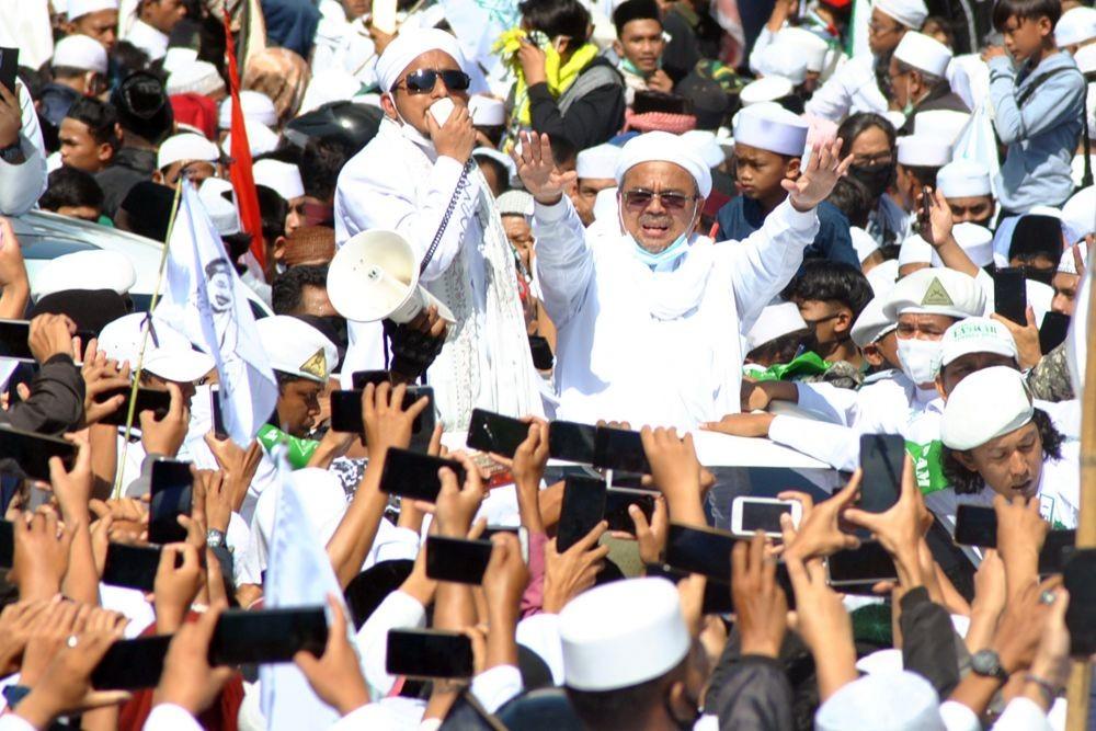 Ini Daftar Pejabat yang Dicopot karena Kerumunan Acara Rizieq Shihab