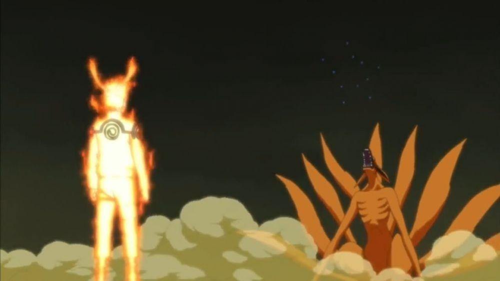 Sudah Tiada! 5 Momen Bukti Pintarnya Kurama untuk Naruto