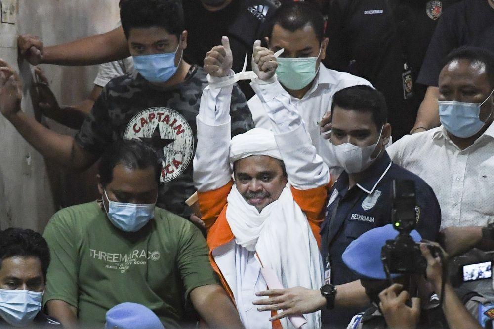 Rizieq Shihab Jalani Sidang Lagi soal Kerumunan di PN Jaktim Hari Ini