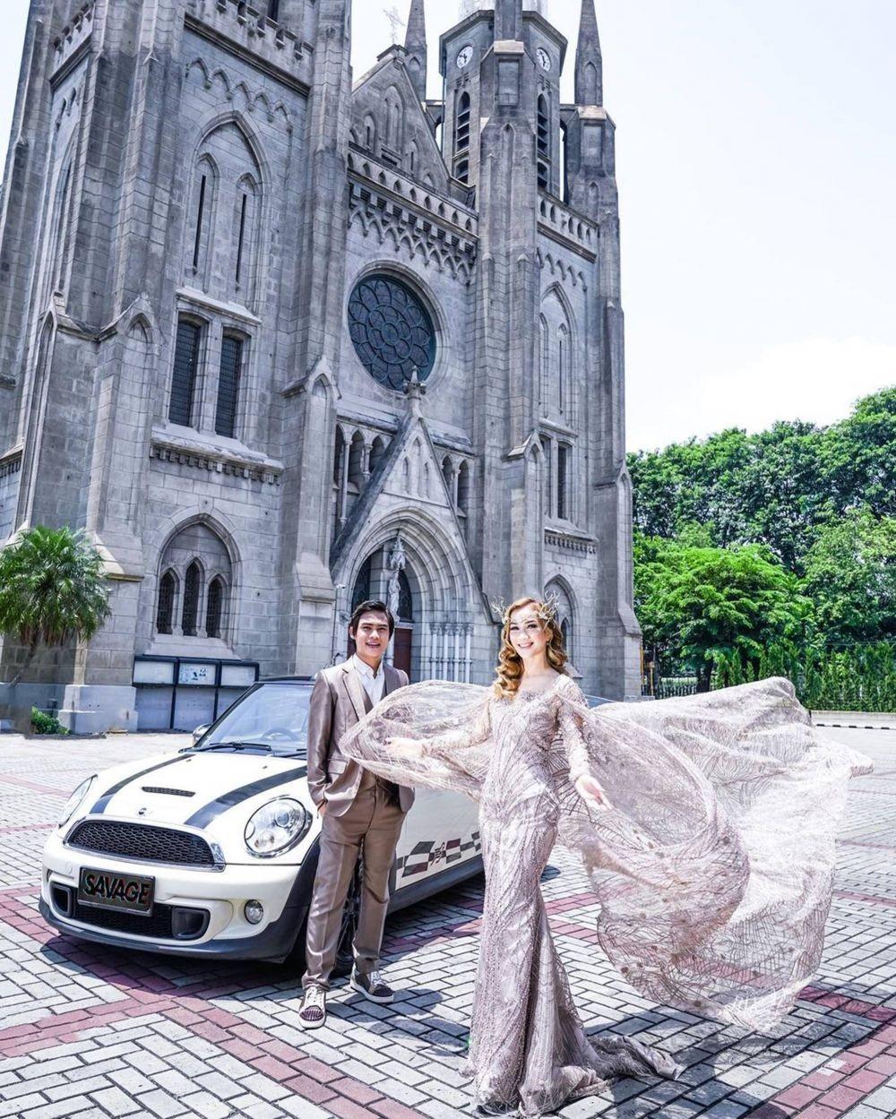 Segera Menikah, 10 Potret Prewedding Marisha Chacha dan Andreas Setya