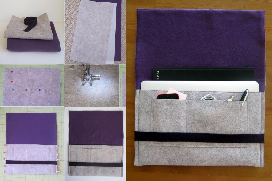 9 DIY Case Laptop Minim Modal, Bisa dari Sweater Bekas!