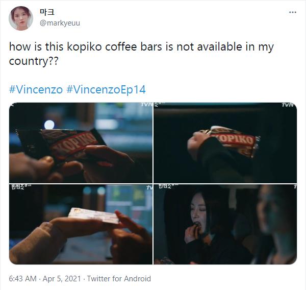 10 Reaksi Lucu Warganet Lihat Karakter di Vincenzo Makan Permen Kopiko