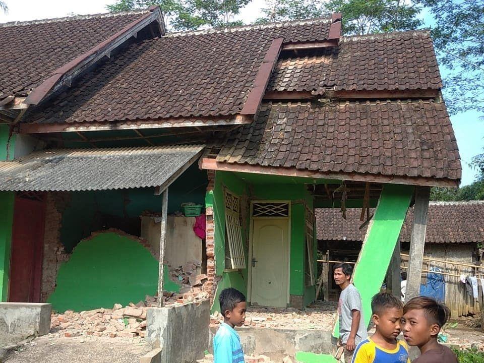 Khofifah Minta Rehabilitasi Masjid Rusak Akibat Gempa Jadi Prioritas