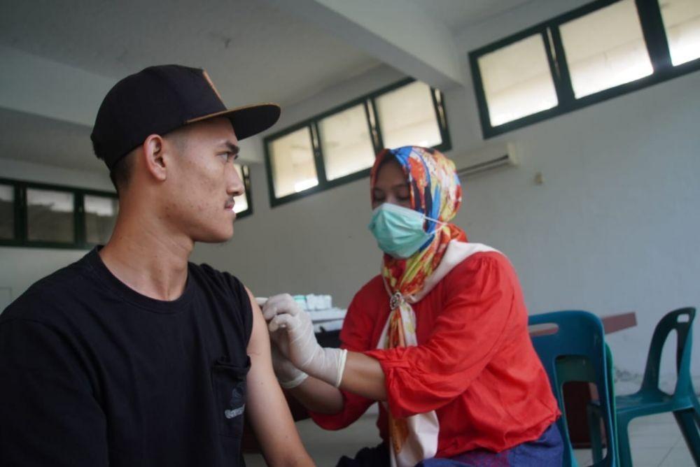 Usai Vaksinasi Tahap Kedua, Skuat PSMS Latihan Perdana Ramadan