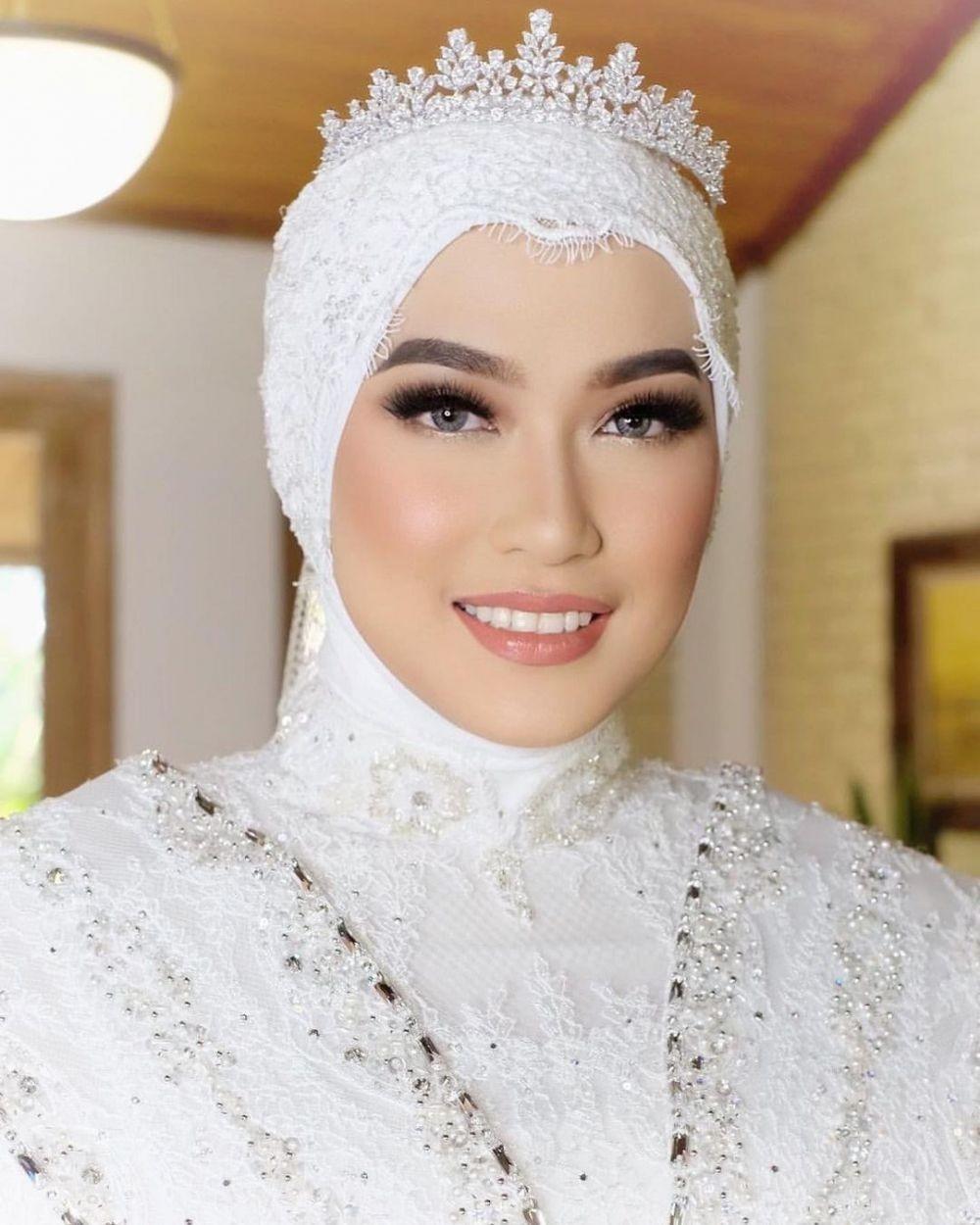 9 Gaya Makeup Pengantin yang Populer di Kalangan Hijabers, Menawan!