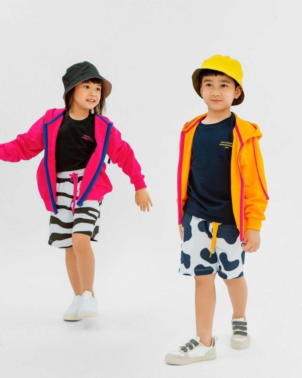 10 Photoshoot Rafathar dan Gempi untuk Clothing Line Mylk by Rafathar