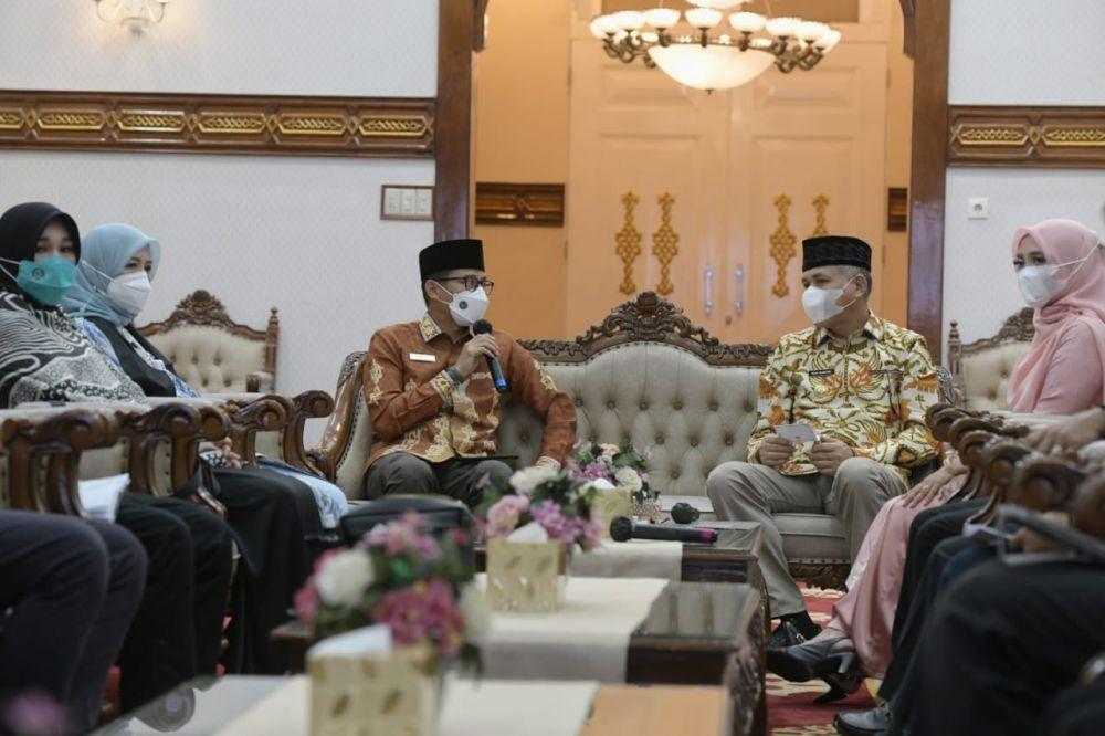 Sudah Dua Pekan Lebih Isolasi, Gubernur Aceh Masih Positif COVID-19