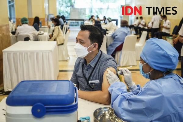 Baru 20,7 Juta Masyarakat Indonesia yang Sudah Vaksinasi Lengkap
