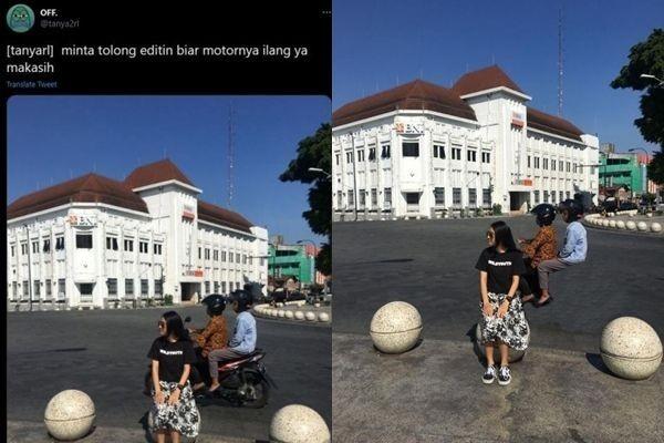 10 Foto Editan Minta Kendaraannya Dihilangkan, Hasilnya Kocak Abis