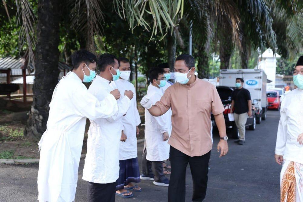 Opor Buat Pasien COVID-19, Tanda Klaster Keluarga Meluas di Semarang