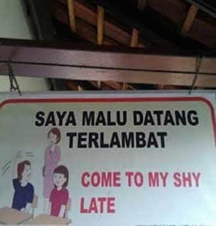 9 Terjemahan Bahasa Inggris ke Indonesia Ini Kocak Banget
