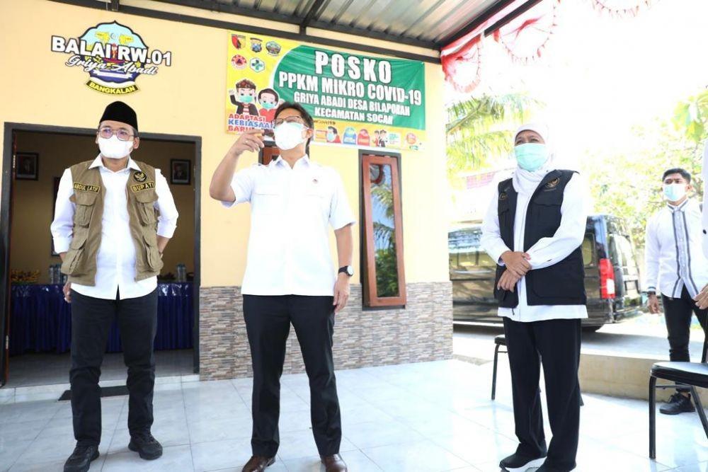 Menkes Minta Surabaya Bantu Rawat Pasien COVID-19 dari Bangkalan