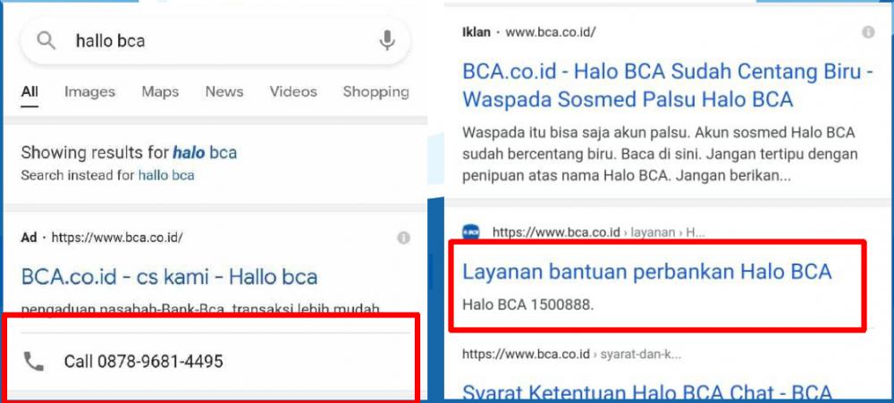 Tips Terhindar dari Penipuan via Telepon yang Catut Nama BCA