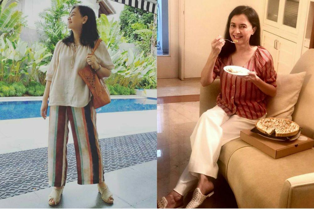 Sama-sama Modis, 9 Adu Gaya Ibu Maudy Ayunda Vs Ibu Sherina Munaf