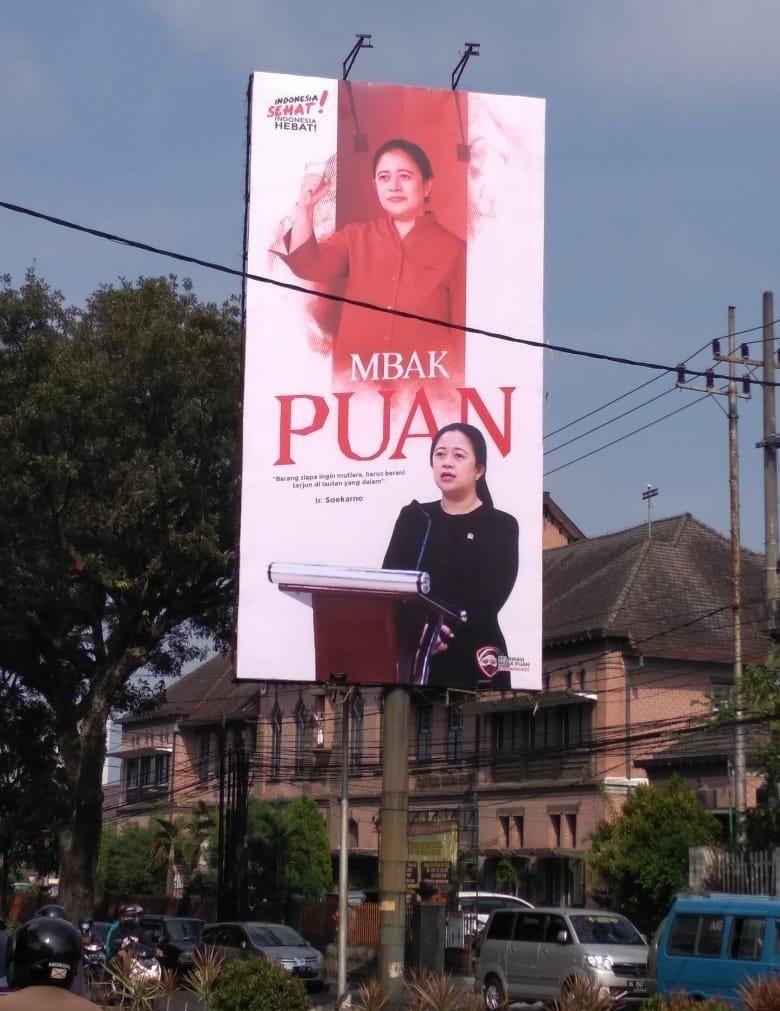 Baliho Puan Muncul di Surabaya, Pengamat: Pemanasan Pilpres 2024