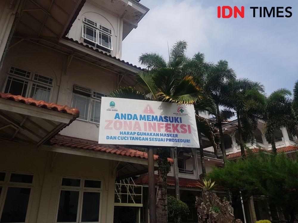 Banyak Pasien COVID-19 di RS Al Ihsan Bandung Dalam Kondisi Berat