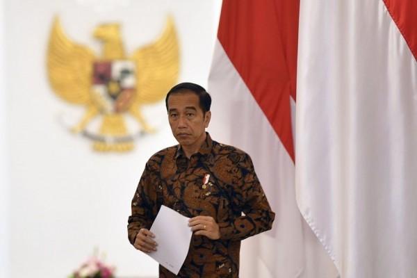 Jokowi Minta MK Tolak Semua Gugatan tentang UU Cipta Kerja