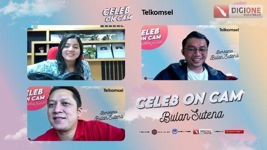 Bulan Sutena Berbagi Tips Jadi Konten Kreator Event Celeb On Cam