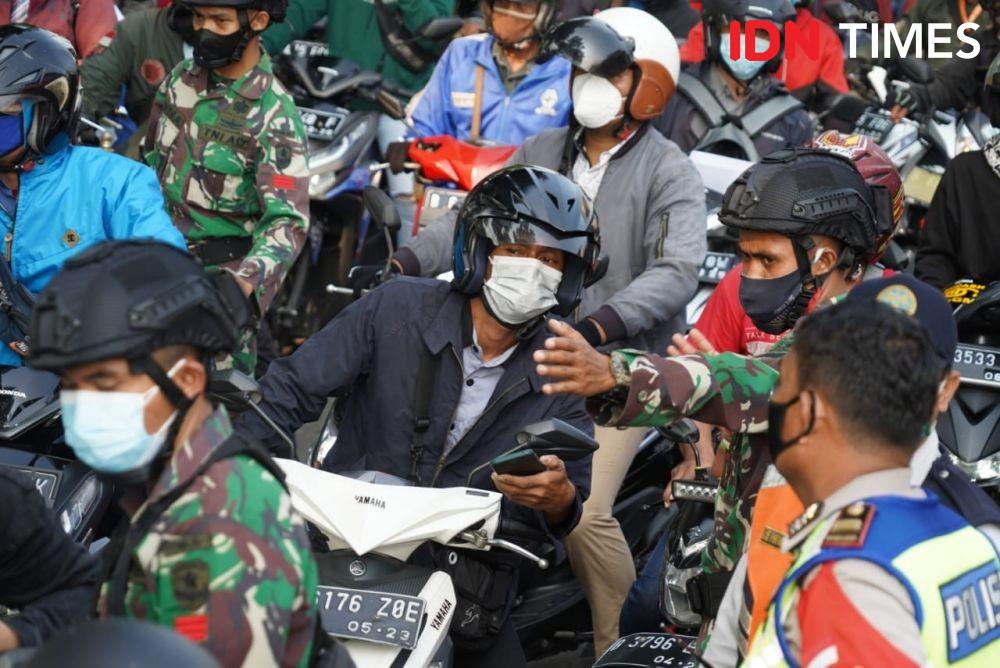 Penyekatan PPKM Darurat Ditambah, Mobilitas Diklaim Turun 50 Persen